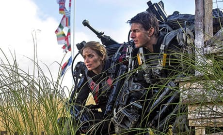 All You Need Is Kill Still: Tom Cruise Shows His Metal