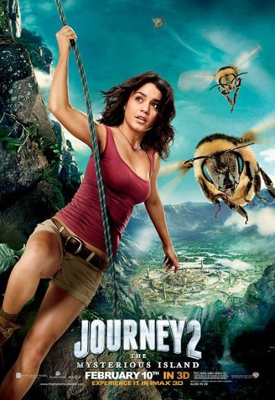 Journey 2: The Mysterious Island Vanessa Hudgens Character Banner