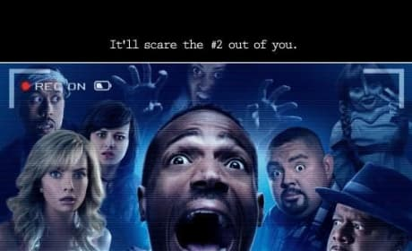 A Haunted House 2 Poster: It'll Scare the Number Two Out of You!