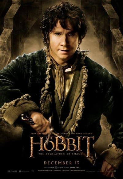 The Hobbit: The Desolation of Smaug Bilbo Poster