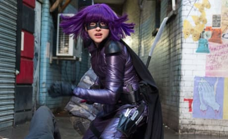 Kick-Ass 2 Chloe Moretz Hit Girl