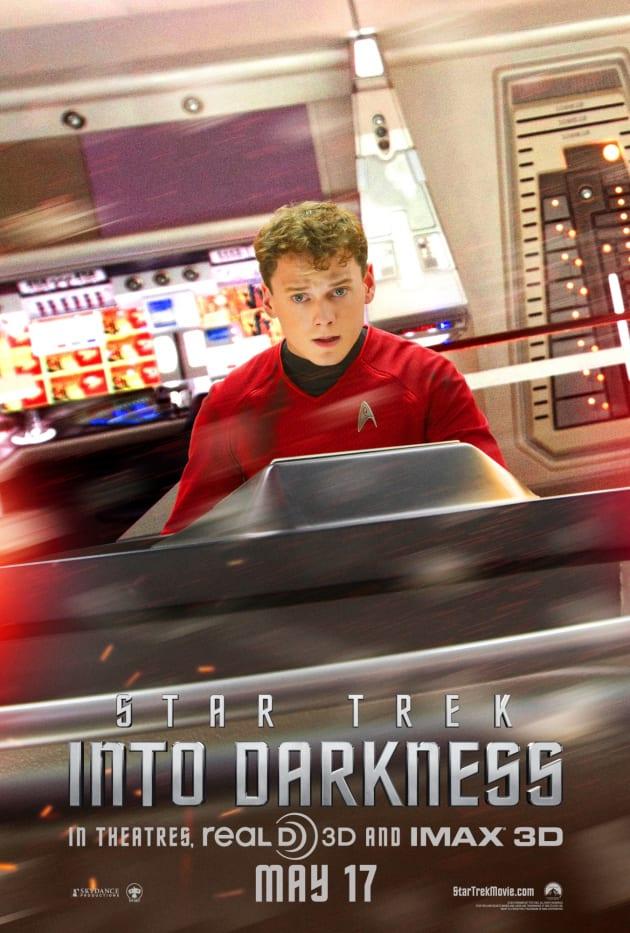 Star Trek Into Darkness Chekov Poster