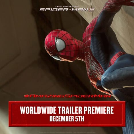 The Amazing Spider-Man 2 Trailer Announcement