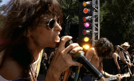 Aerosmith plays at Waynestock