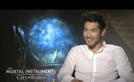 Godfrey Gao Exclusive Mortal Instruments: City of Bones Interview