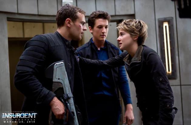 Shailene, Theo & Miles Meet