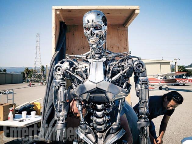 Terminator: Genisys Set Photo