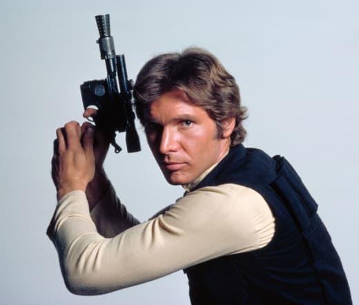 Star Wars Han Solo Blaster