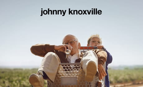 Bad Grandpa Poster: Johnny Knoxville Gets a Ride