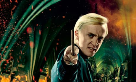 Malfoy is Concentrating Hard