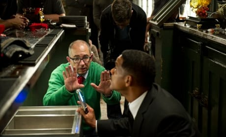 Barry Sonnenfeld Directs Will Smith on Men in Black 3
