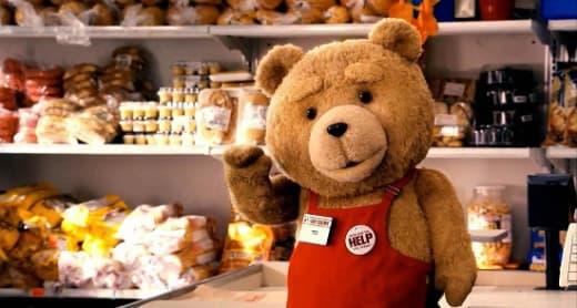 Seth MacFarlene is Ted