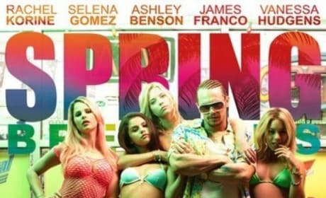 Spring Breakers Gets New Posters and Stills: Selena Gomez in a Bikini