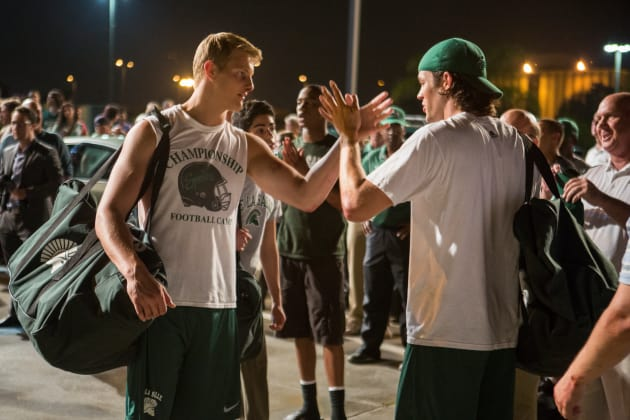 When the Game Stands Tall Alexander Ludwig Matthew Daddario