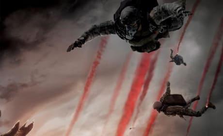 Godzilla Poster: Free Falling into Terror