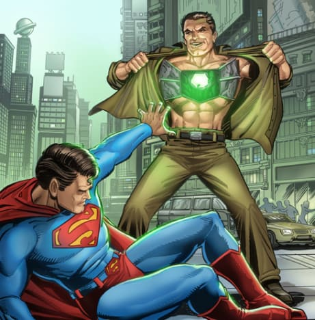 Superman Foe Metallo