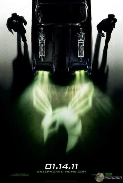 Green Hornet Teaser Poster