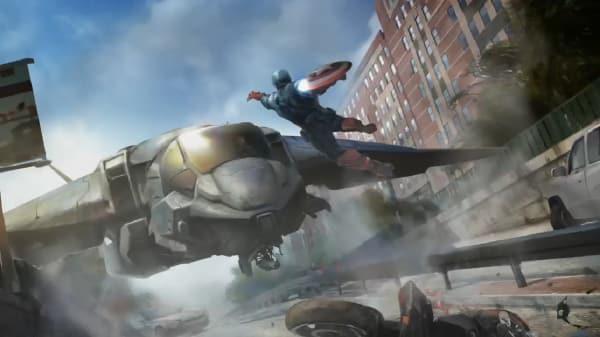 Captain America 2: The Winter Soldier the Cap Concept Art