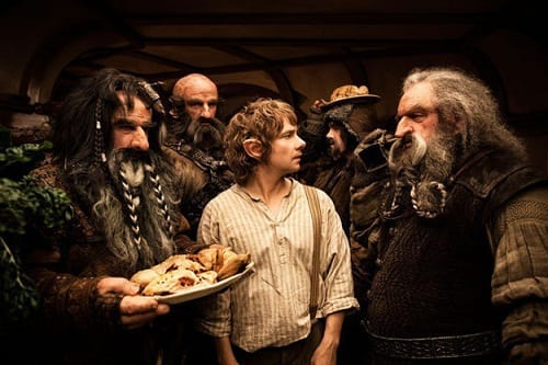 Martin Freeman Stars as Bilbo Baggins in The Hobbit