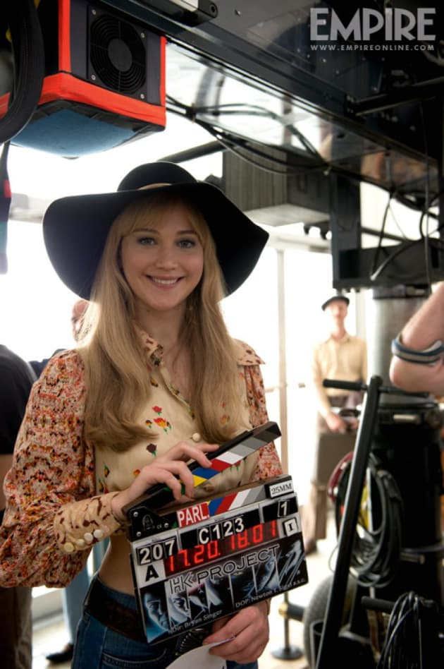 X-Men: Days of Future Past Jennifer Lawrence Set Photo