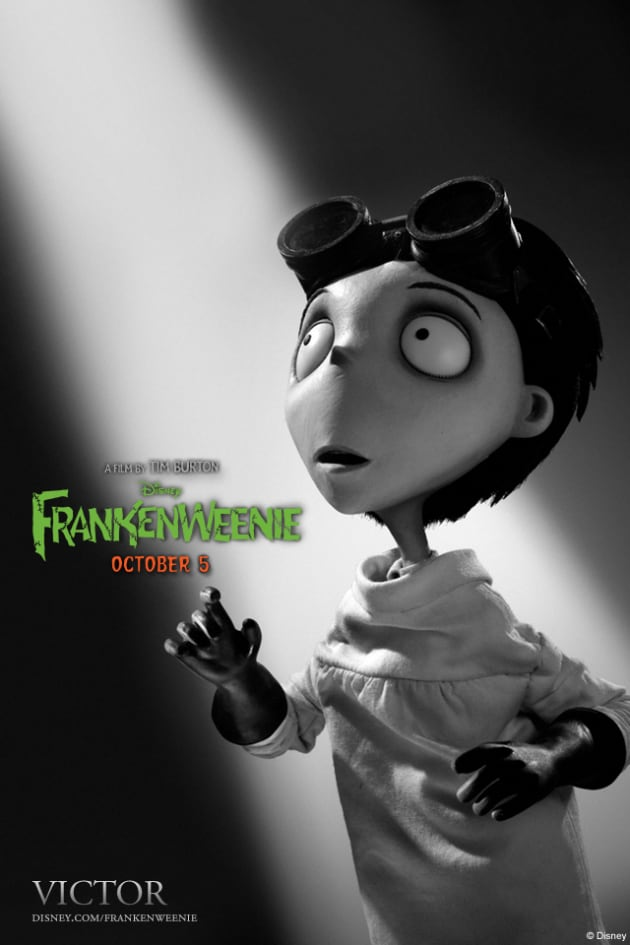 Victor Frankenweenie iPhone Background