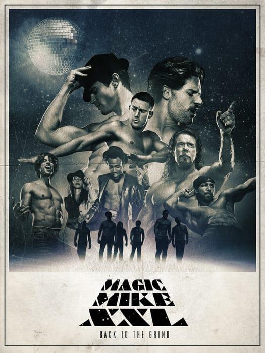 Magic Mike XXL Cast Poster