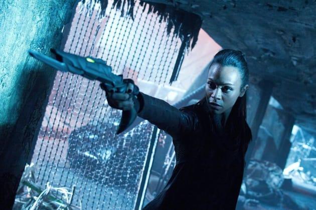 Zoe Saldana Star Trek Into Darkness Image