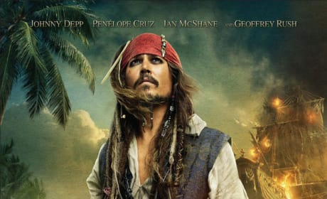 Pirates of the Caribbean 4 Official Poster Released