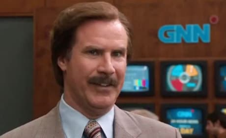 Will Ferrell Ron Burgundy Anchorman 2