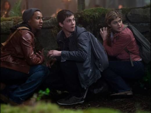 Logan Lerman Brandon T. Jackson Percy Jackson Sea of Monsters