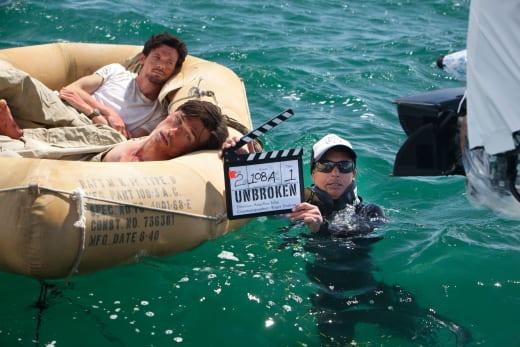 Unbroken: Jack O'Connell Films a Scene