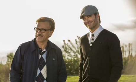Horrible Bosses 2 Chris Pine Christoph Waltz