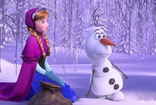 Frozen Anna Olaf