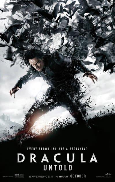 Dracula Untold Bat Poster