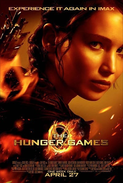 Official Hunger Games IMAX Poster