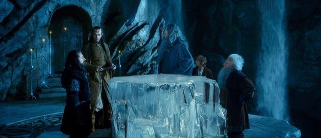 Hugo Weaving Ian McKellen The Hobbit