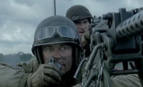 Brad Pitt in Fury