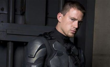 Channing Tatum is Duke in G.I. Joe: The Movie