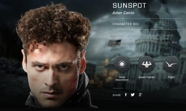 X-Men Days of Future Past Sunspot Bio Banner