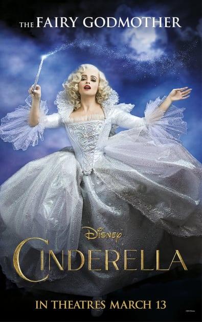 Helena Bonham Carter Is The Fairy Godmother