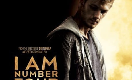 I Am Number Four Teaser Poster