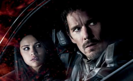 Getaway Poster: Ethan Hawke & Selena Gomez on the Run