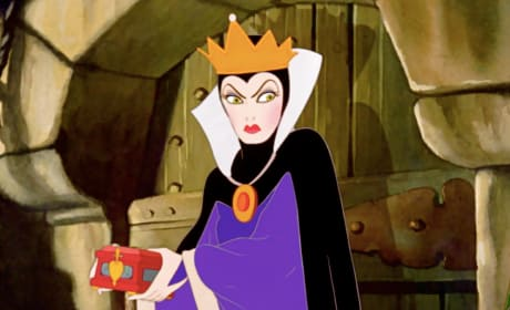 The Evil Queen in Snow White