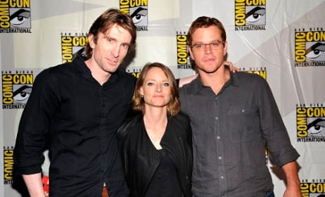 Neill Blomkamp, Jodie Foster and Matt Damon Picture