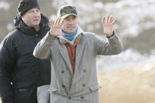 Roland Emmerich is nuts on set
