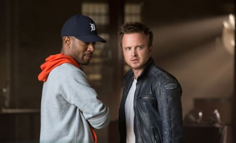 Need for Speed Photos: Aaron Paul Races On