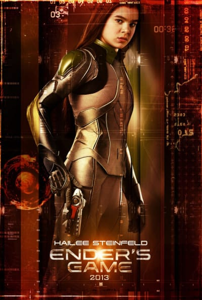 Ender's Game Character Poster: Hailee Steinfeld