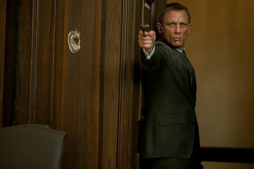 Daniel Craig Stars as James Bond in Skyfall