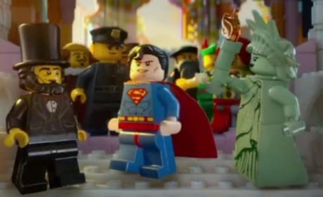 The LEGO Movie Trailer: Channing Tatum is Superman!