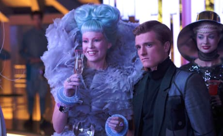 The Hunger Games Catching Fire Elizabeth Banks Josh Hutcherson